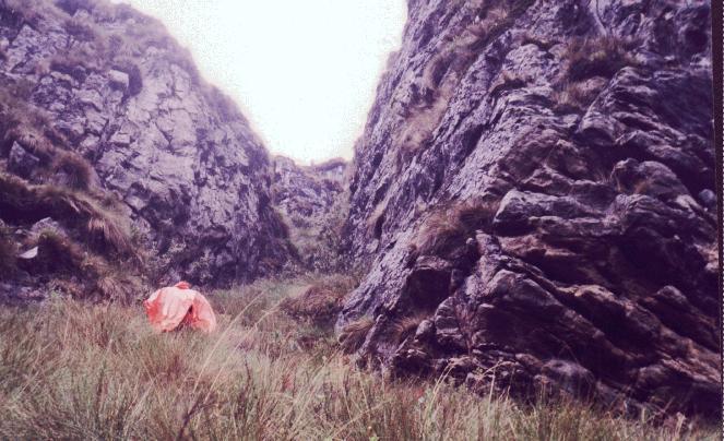 Quebrada Paraguay  (Julio, 1998)