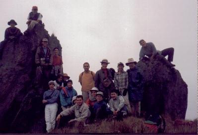 Integrantes de la Tercera Excursión (Enero, 1999)